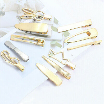 Women's Slide Hair Clips Snap Pins Slide Hairpins Hair Grips Hair Accessories