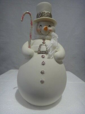 "Department 56 Snowbabies snowDream Collection ""Snowman"" Figurine 2012"