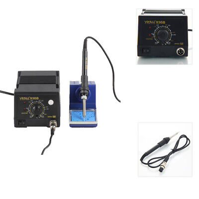 936B SMD 110V Electric Soldering Iron Station Welding Tool Welder Set w/ Stand
