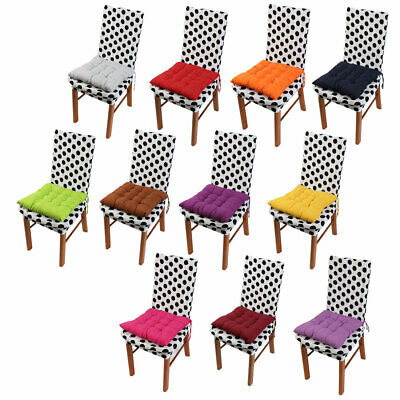 Home Living Room  Cotton Blends Strap Design Thickened Chair Cushion Pad