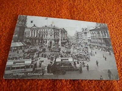 carte postale - anglaise - london - piccadilly circus