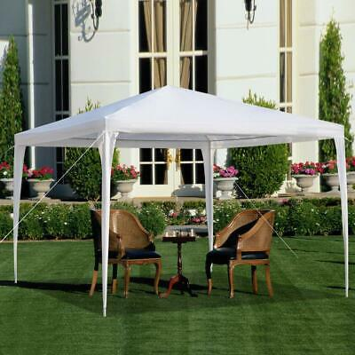 Waterproof 3m x 3m Garden Gazebo Marquee Party Tent Picnic Heavy Duty Canopy