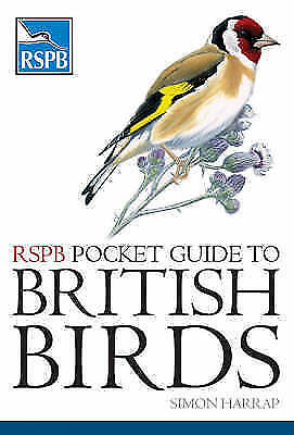 RSPB Pocket Guide to British Birds, Simon Harrap, Good Book