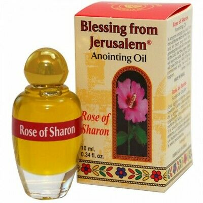 Blessing from Jerusalem Anointing Oil - Rose of Sharon Shipped Holy Land