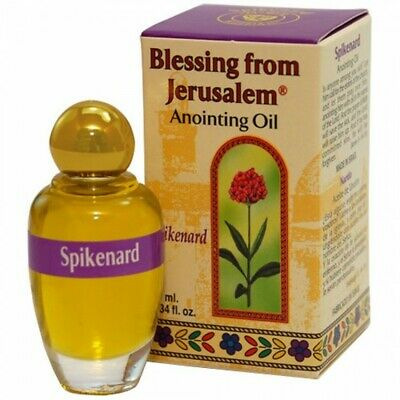 Blessing from Jerusalem Anointing Oil - Spikenard Shipped Holy Land