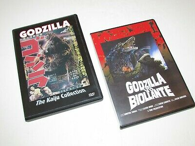 Godzilla 1954 Kaiju Collection &  Godzilla Vs Biollante Region Free Dvd's Nm/M