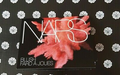 NARS - ORGASM BLUSH - Carded Sample/Swatch Card