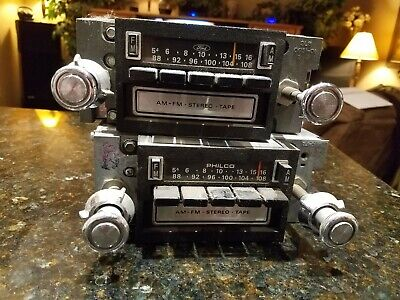 Ford Factory 8 Track Car Stereos