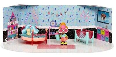 LOL Surprise Furniture Space Bedroom with Neon Q.T. Playset