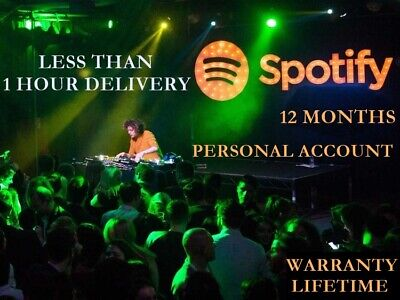Spotify premium code private 12 months🔥1 year personal account fast delivery