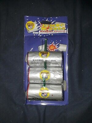 Fireworks Label Jumbo M-5000 firecrackers 3 Labels