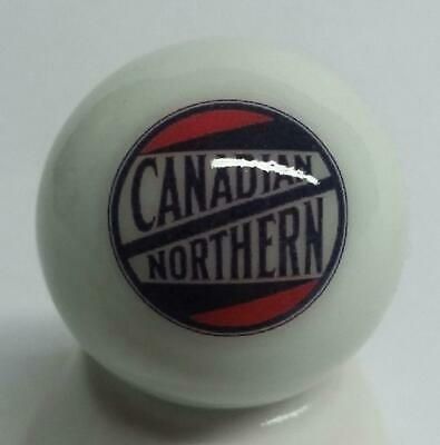 "Very Nice Canadian Northern Railroad 1"" Glass Marble"