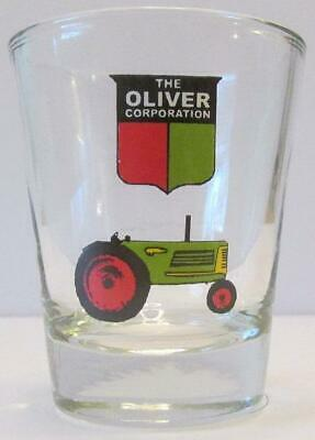 Very Nice Oliver Tractor 1 1/2 oz Shot Glass