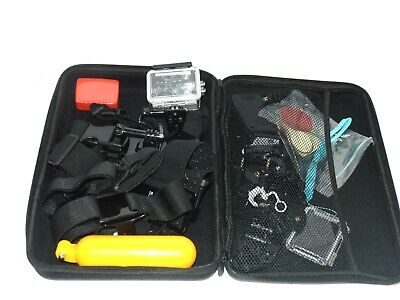 Miscellaneous accessories for mini camera (gopro) with carry bag
