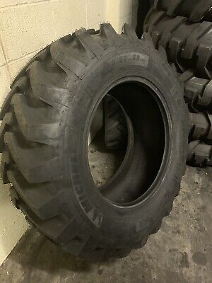 Pair Of 16.9 X 28 440/80 - 28 Michelin Power CL  Tyres