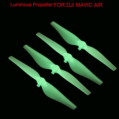For DJI Mavic Air RC Drone Luminous Propellers Low-Noise Quick Release 2 Pair