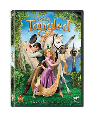 Disney TANGLED DVD~4 Out of 4 Stars~Great Deal~Free Shipping~