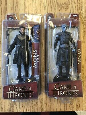 McFarlane Toys Game of Thrones - Jon Snow And Night King Action Figure Brand New