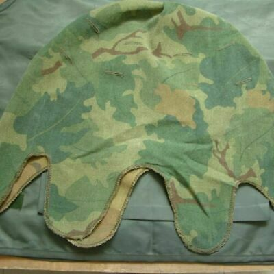 Vietnam War Us Mitchell Camo Reversible M1 Soldier Helmet Cover Cotton