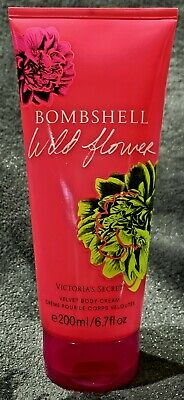 cf1b0e4cd4550 1 VICTORIA'S SECRET Bombshell Wild Flower Velvet Body Cream Lotion ...