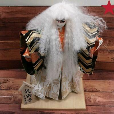 Japanese tradition antique Vintage Kabuki doll figure  Very rare F/S from japan