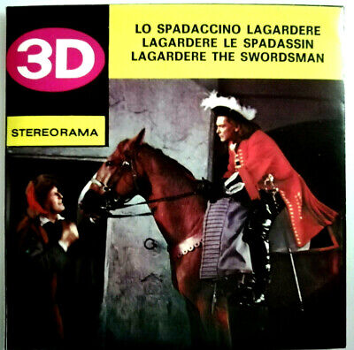 3x STEREORAMA REEL / LAGARDERE the SWORDSMAN / LO SPADACCINO / VIEW MASTER 3D