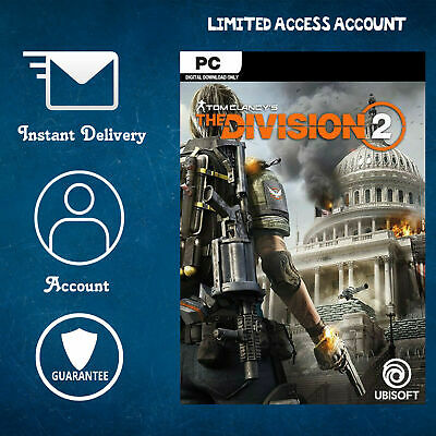 The Division 2 (PC) uPlay Account - Limited Access - Instant Shippping