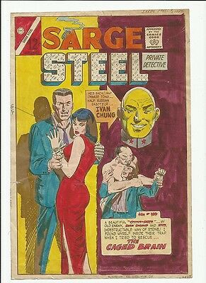 Sarge Steel #5 Colour cover art guide 1965 Charlton War Oriental Silver age item