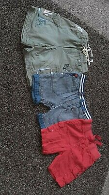 Baby boys shorts 6-9 months mixed next and mothercare