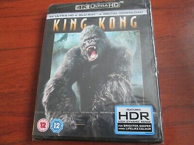 King Kong (4K Ultra HD + Blu-ray) [UHD]   NEW AND SEALED UK ISSUE