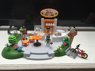 0898 Playmobil Ice Cream// Sweet Shop Sign Spare New