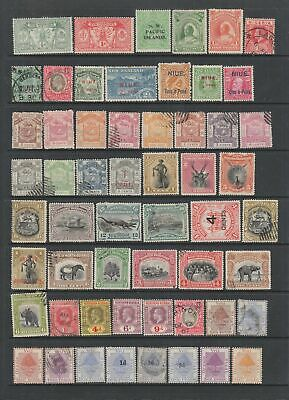 British Commonwealth QV - KGV collection, 84 stamps MH or used