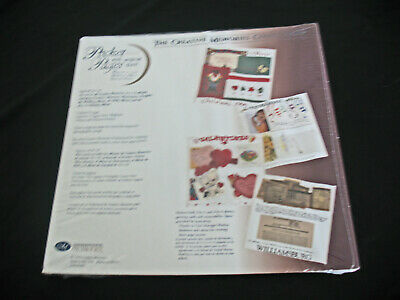 Creative Memories Premier ONE PKG.White Write in, Pocket Pages, 12x12 5/10 PAGES