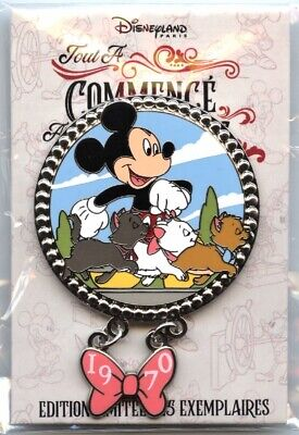 DLRP - Pin Trading Event - It All Started with a Mouse - The Aristocats Pin