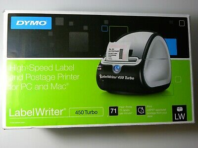 NEW DYMO LABELWRITER 400 Turbo Label Postage Thermal Printer 69111