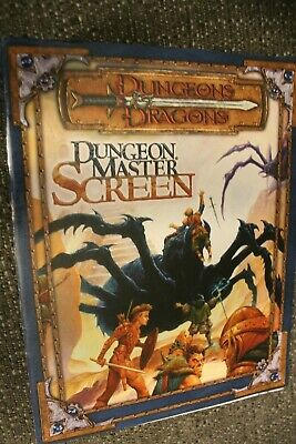 DUNGEONS & DRAGONS 3 5 Dungeon Master Screen D&D DM 2004 Illustrated