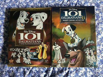 101 Dalmatians 1 and 2 DVD 1-2 Walt Disney 2 DVDs New & Sealed Free Shipping