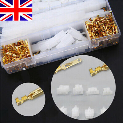 40 Set Motorcycle Car Electrical 2.8mm 2 3 4 6 Pin Wire Auto Connectors Terminal