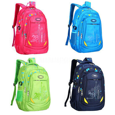 AU Boys Girls Backpack Children School Bag For Middle Primary Student Rucksack