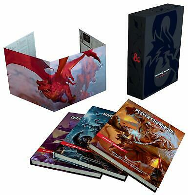 Dungeons & Dragons Core Rulebook Gift Set (Dungeons & Dragons, D&D) [New Books]