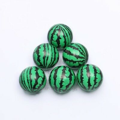 12 Anti-Stress PU Foam Watermelon Squeeze Reliever Ball 60mm
