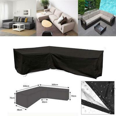 Waterproof Sofa Furniture Cover Corner Couch Outdoor Furniture L Shape Slipcover