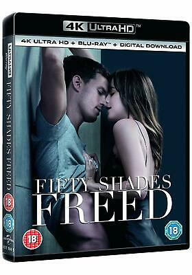Fifty Shades Freed 4K UHD + Blu-ray + Digital Download brand new shrink wrapped