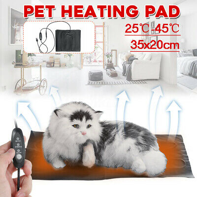 USB Electric Heating Heated Safe Warmer Bed Pad for Dog Cat Reptile Pet Mat Pads
