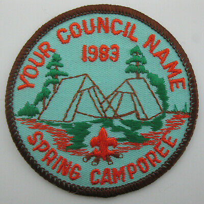 Boy Scout Patch~1983 Spring Camporee Mountaineer