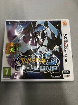 Pokemon Ultra Luna Nintendo 3DS New