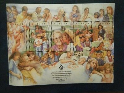 Canada#1523 MNH SS 'Year of the Family' Lot#DD21