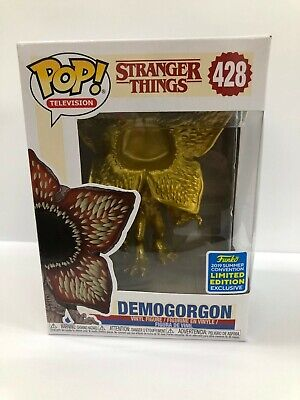 Funko POP! Stranger Things DEMOGORGON (Gold) SDCC Exclusive 2019