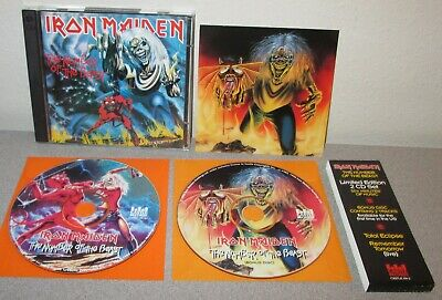IRON MAIDEN Number Of The Beast 1995 Limited 2 CD Set w/Obi + Insert B Dickinson