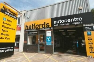 Halfords Autocentre MOT voucher